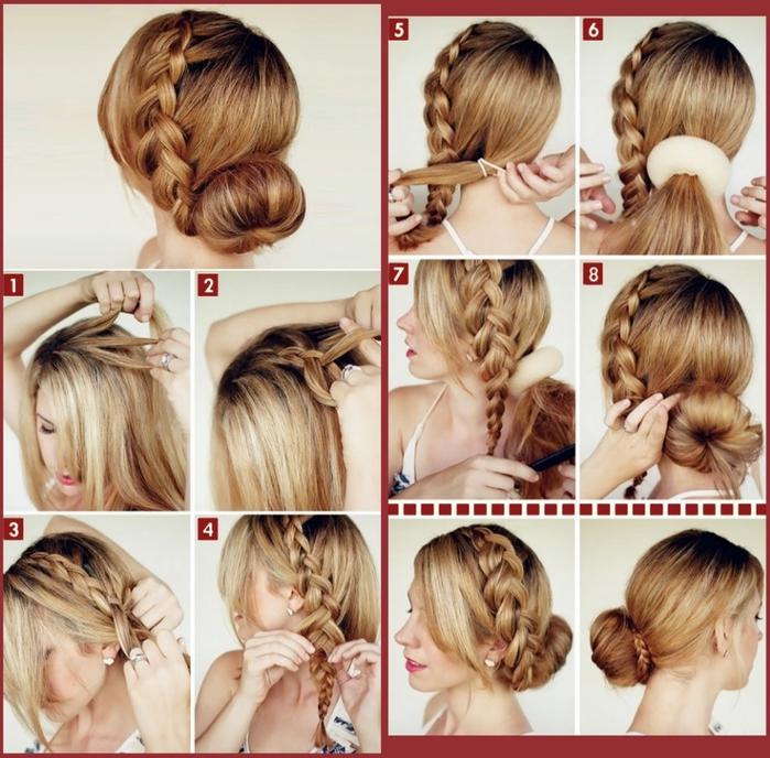 Модные причёски краска волос 90