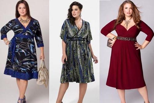 Одежда для полных женщин: Идеальное