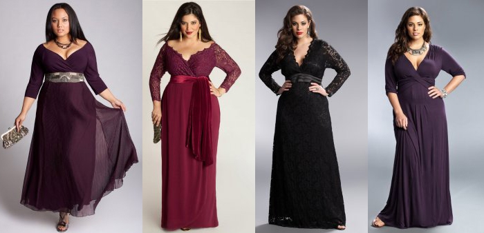 Как выбрать вечернее длинное платье
