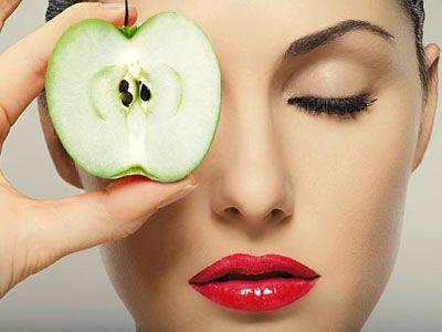 Домашняя яблочная маска для лица (Видео)