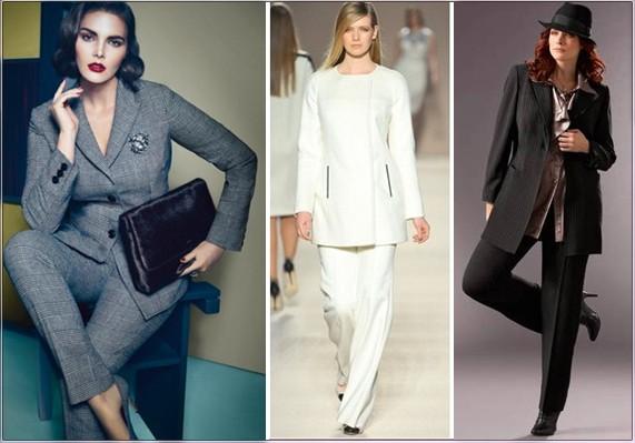 Классик стиль женская одежда фото