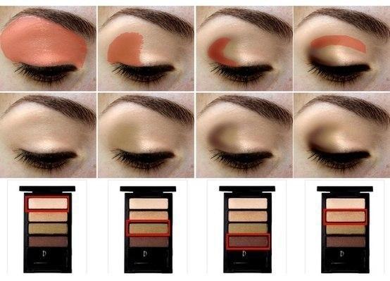 Секреты макияжа: Тени для век +Фото