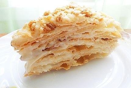 Видео рецепт домашнего торта Наполеон
