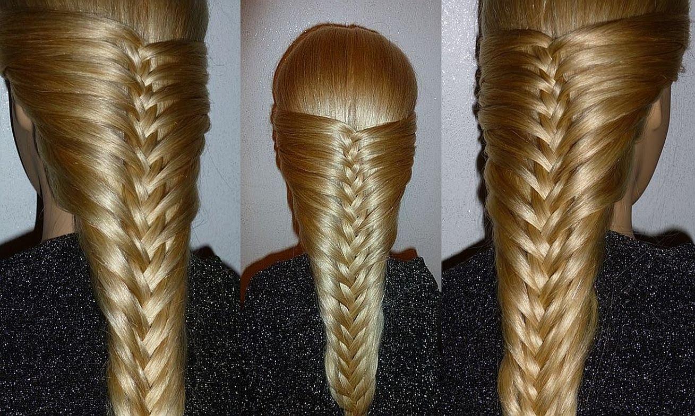 Необычная французская коса