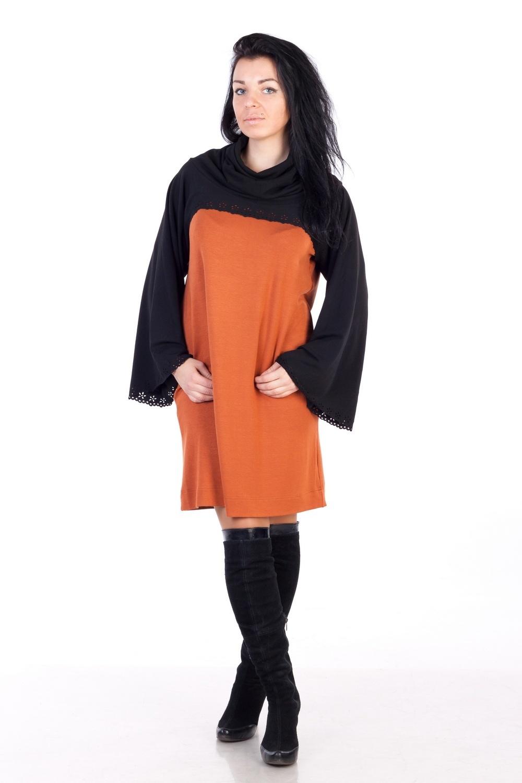 Женские Хитрости: Платье свободного кроя (Фото)