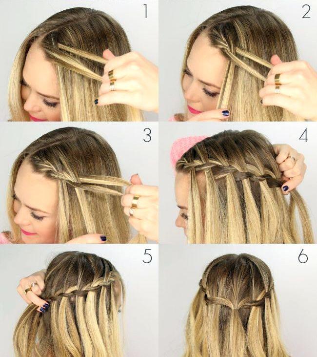56 Идей, как красиво заплести короткие волосы