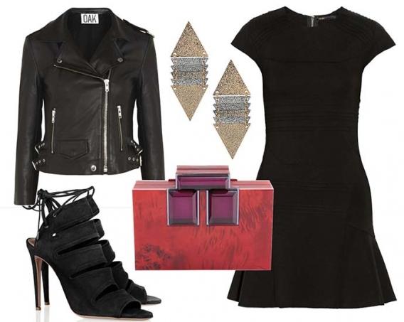 50 Модных образов с маленьким черным платьем