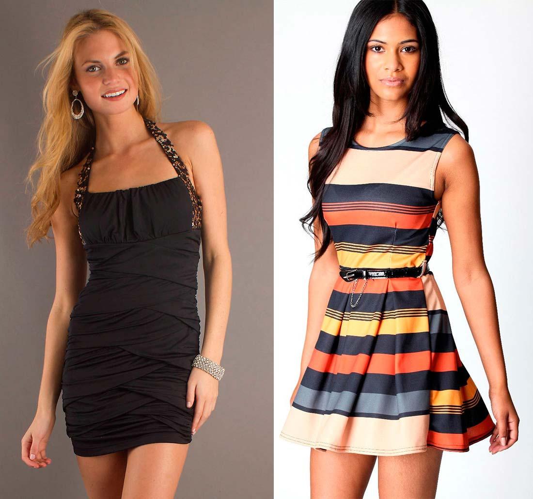 Платья мини короткие купить