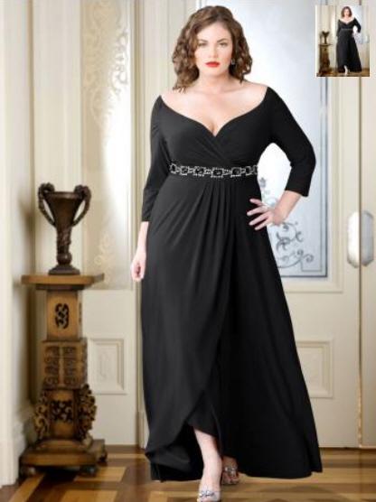 Нарядное Платье Для Полной Девушки Купить 19