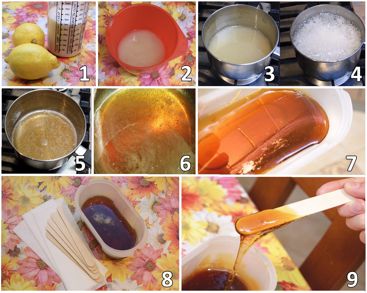 Рецепт эпиляции сахарной в домашних условиях