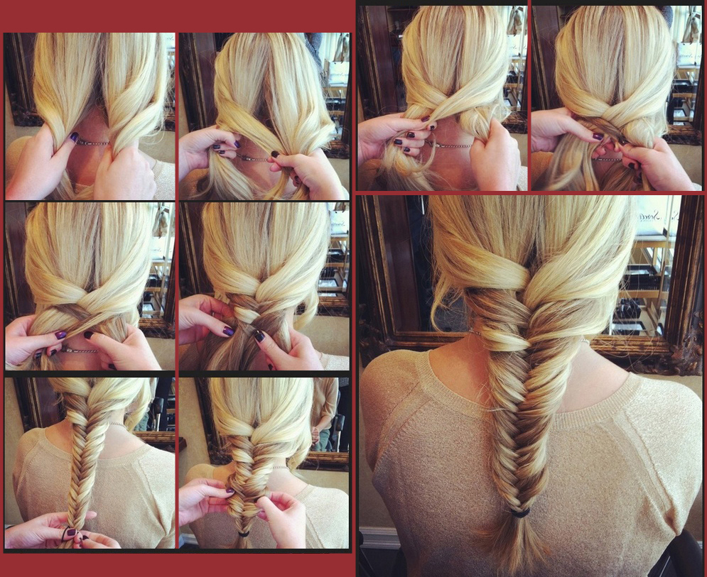 Плетение кос своими руками фото