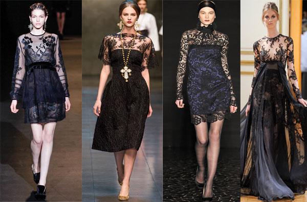 Самые модные платья к новому году в