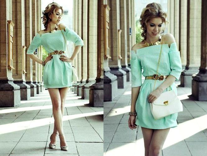 Модные повседневные платья 2014 +фото