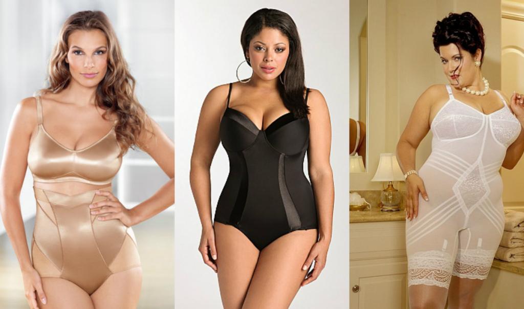 Одежда для полных женщин: Особенности выбора корректирующего белья