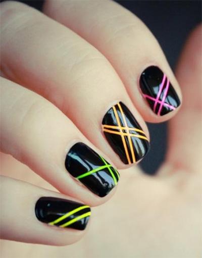Быстро и легко рисунок на ногтях