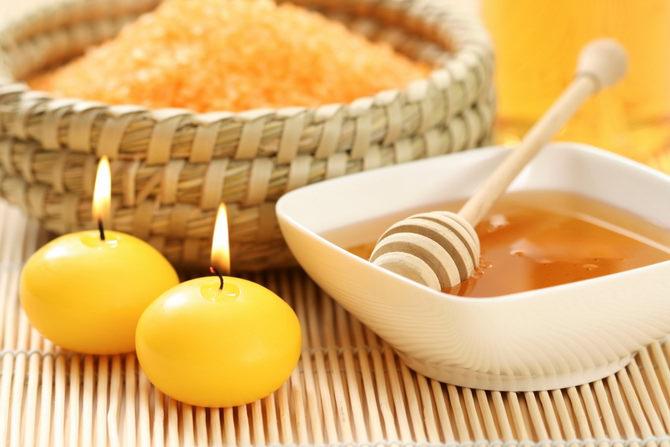 Домашний рецепт маски красоты из меда и соли