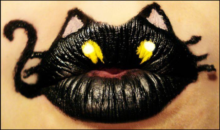 Новинка макияжа: Принты на губах! +Фото