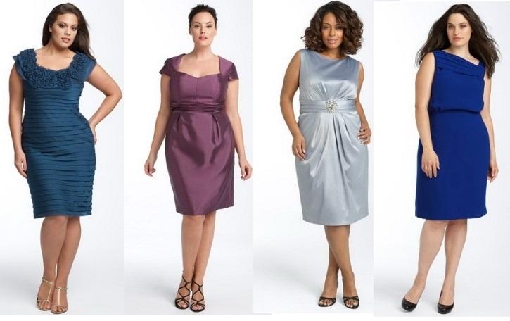 Платье шелковое для толстых