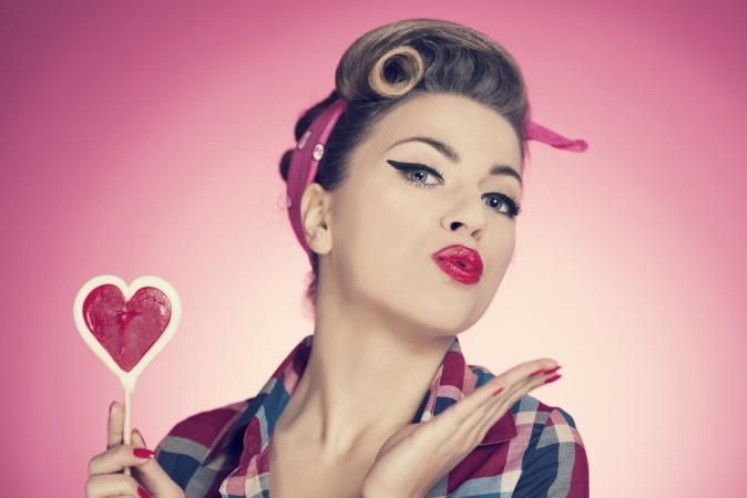Школа красоты: Прически в стиле Пин Ап
