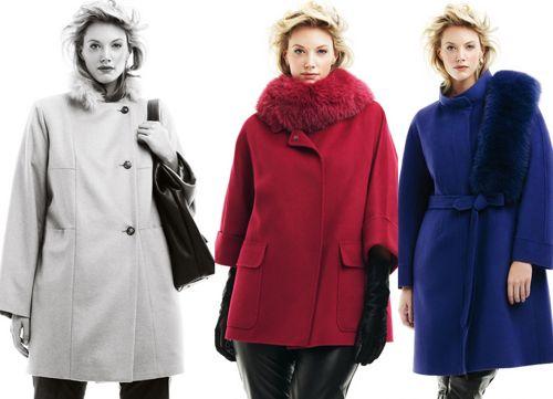 Идеальное пальто для полной женщины Фото