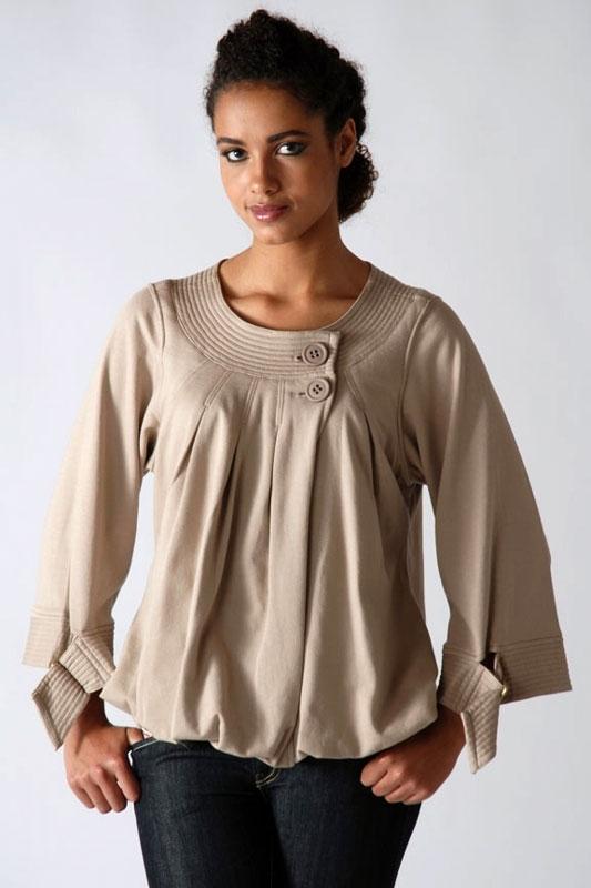 Блузки Фасоны