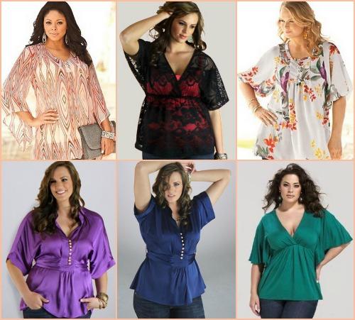 Модные Блузки Для Полных С Фигурой Яблоко 2013 Фото