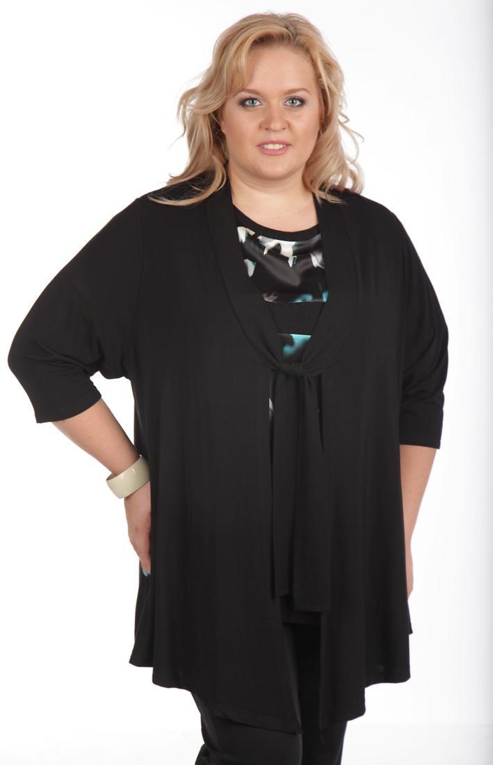 Одежда для полных женщин: Идеальный кардиган (Фото)