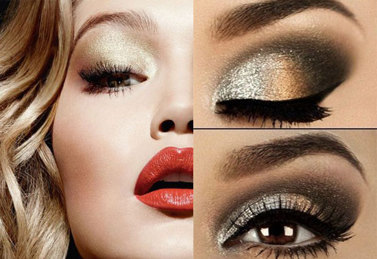 Какой сделать макияж на Новый год 2016? Фото
