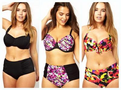 Одежда для полных женщин: Какой выбрать купальник?