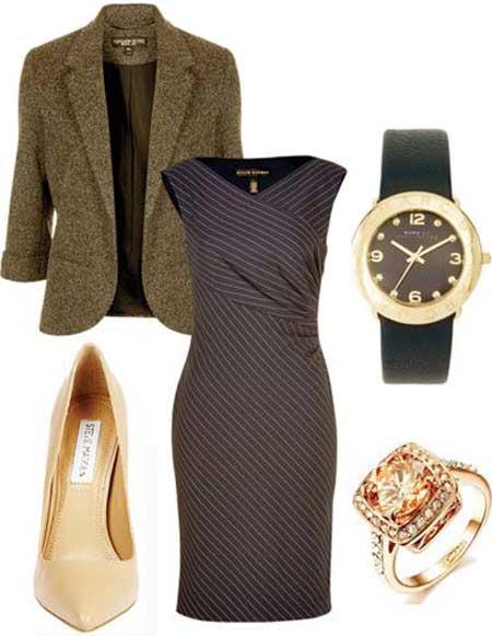 Одежда для полных женщин: Идеальный пиджак (Фото)