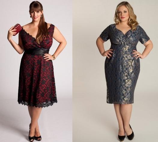 Фасон платья с большой грудью