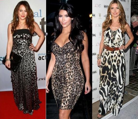 С чем, как и куда носить леопардовое платье?