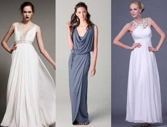 Женские хитрости: Платье в греческом стиле Фото