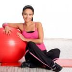 Эффективные упражнения на фитболе для похудения Видео
