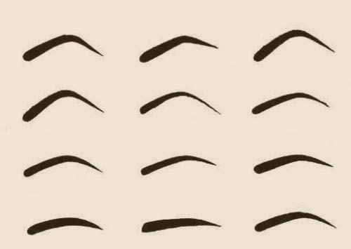 Уроки макияжа: Трафарет для бровей своими руками (Видео)