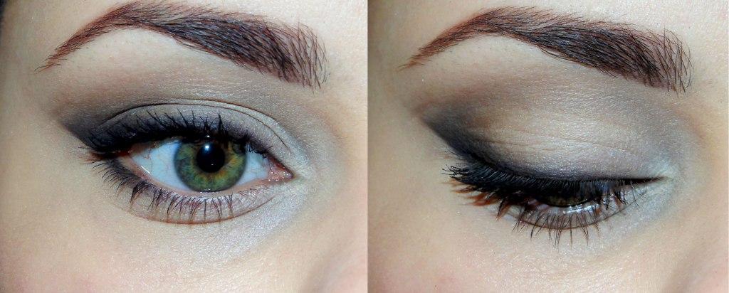 Дневной макияж глаз с мягкими стрелками Видео