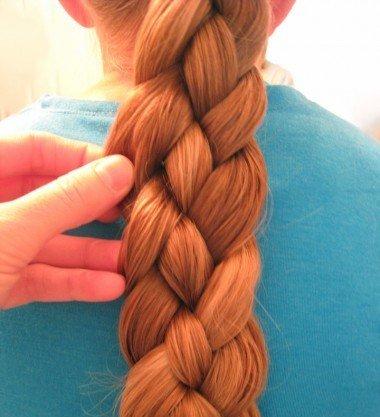 Как заплести косу из 4 прядей?