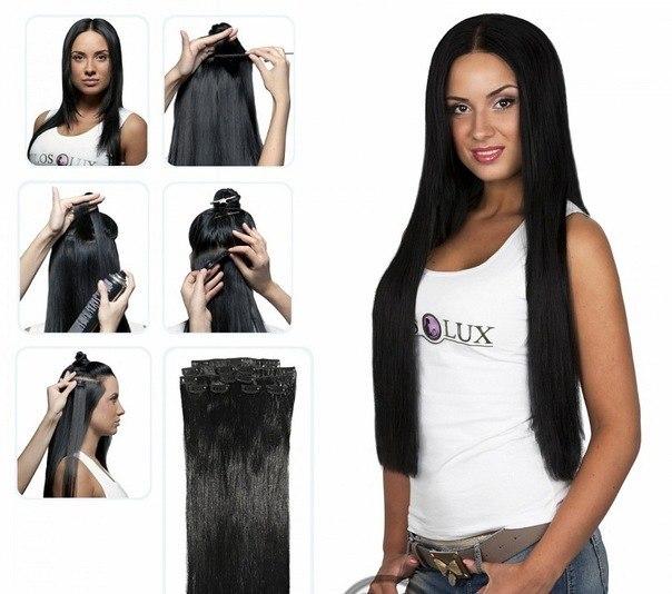 Как крепить волосы на заколках? Видео