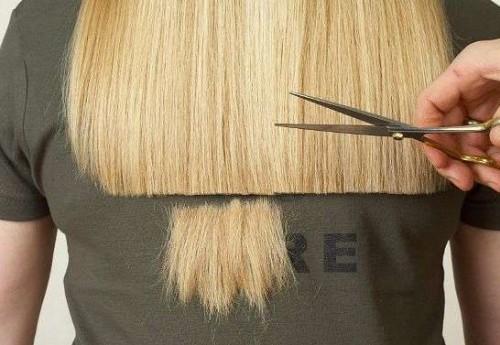 Как самостоятельно подстричь волосы? Видео