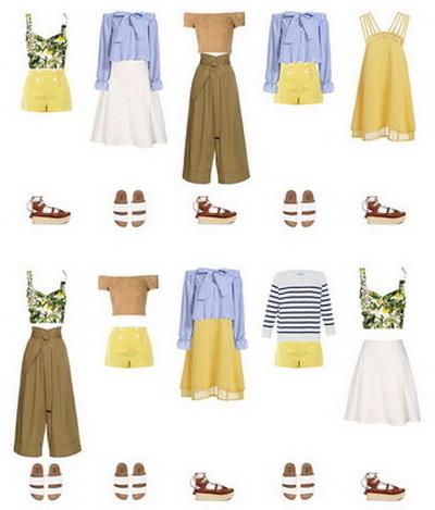 Женские Хитрости: Что такое капсульный гардероб? Фото примеры