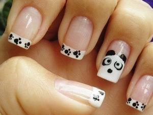 Французский маникюр на коротких ногтях (Фото)