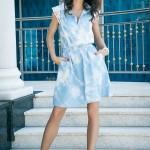 Платья, скрывающие живот и бока Фото