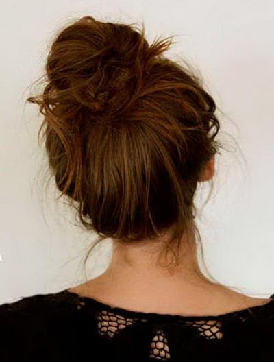Женские Хитрости: 5 Лучших пучков на каждый день Фото