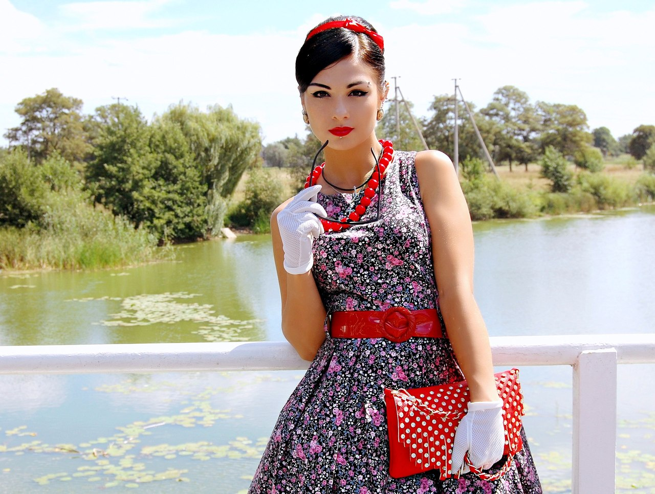 Экстравагантные платья в стиле стиляг!