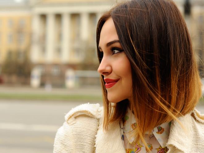 Модный стиль окрашивания Омбре (Фото)