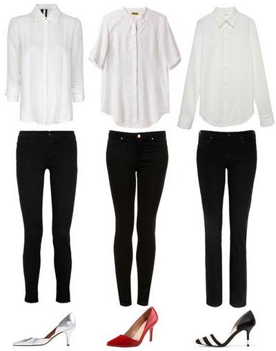 Идеальный базовый гардероб для современной девушки +Фото