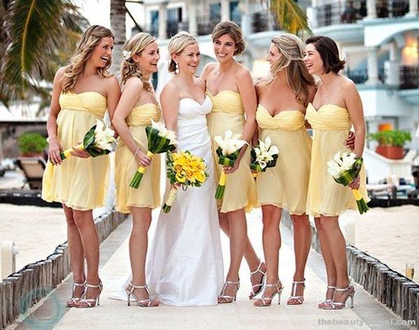 В чем пойти на свадьбу летом? Фото