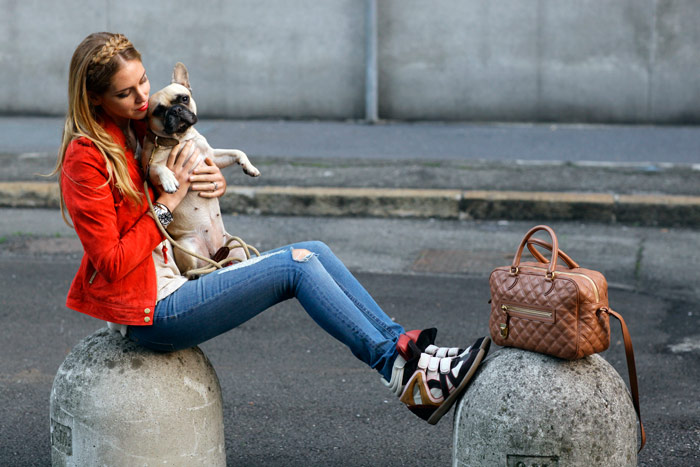 Удачные образы: С чем носить сникерсы? (Фото)