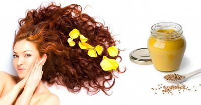 Рецепт масок для волос с горчицей