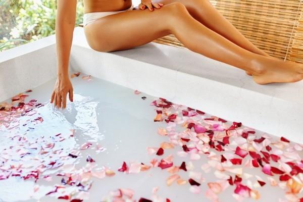 Как приготовить ванну для похудения?
